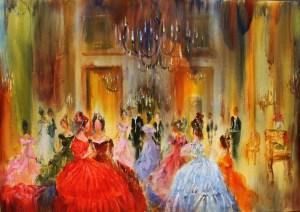 19-Bal VIII,oil on canvas,120x92cm