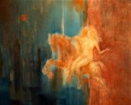 22-Lovers,oil on canvas,120x92cm,